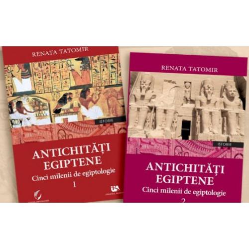Set Antichitati Egiptene - Volumul 1 si Volumul 2