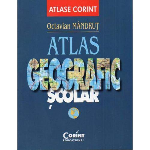 Atlas Geografic Scolar General - Octavian Mandrut